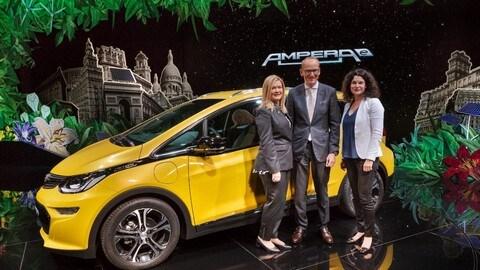 Autonomia di oltre 500 chilometri: Opel Ampera-e