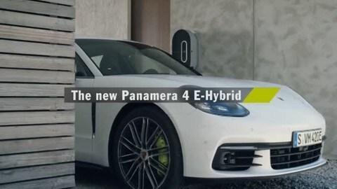 Porsche Panamera E-Hybrid al Salone di Parigi 2016