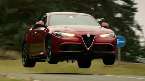 Alfa Romeo Giulia Quadrifoglio al Millbrook Proving Ground