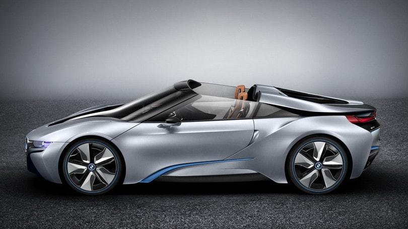 Bmw I8 La Roadster Arrivera Nel 2018 Auto It