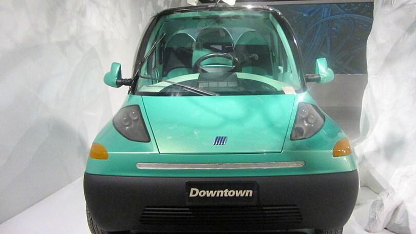 Fiat Downtown, l'auto del futuro... nel 1993