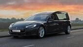 Tesla Model S, ecco il primo carro funebre elettrico