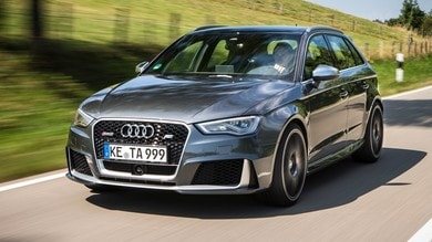 Audi RS3, con la cura ABT arriva a 450 cavalli