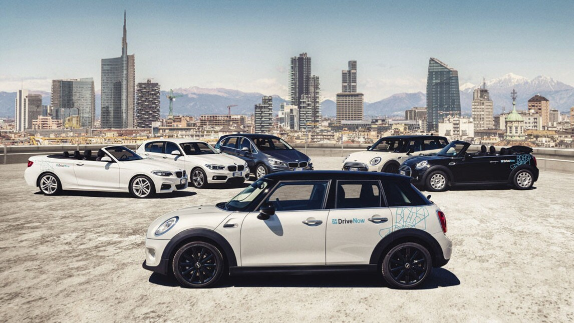 BMW Drive Now, il car sharing premium a Milano