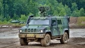 Motor Show, le Forze Armate presenti col blindato Lince
