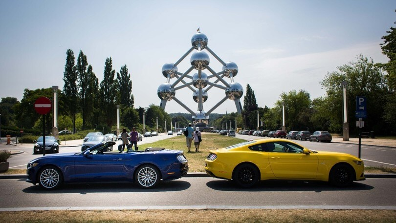 Il Belgio è innamorato della Ford Mustang