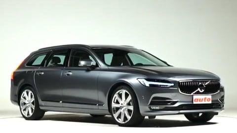 Volvo V90, la prova: torna la grande station wagon svedese