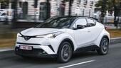 Toyota C-HR, il SUV che fa girare le teste, la prova