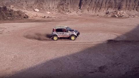 Fiat Panda alla Dakar 2017: ecco la PanDakar