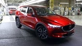 Nuova Mazda CX-5, iniziata la produzione
