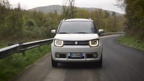 Suzuki Ignis, il Suv ultra compatto su strada