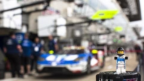 Ford e Lego celebrano le vittorie a Le Mans del 1966 e del 2016