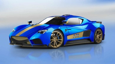 Evantra 771, la supercar made in Italy al Motor Show