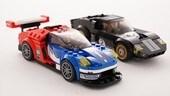 Ford e Lego, i modellini celebrativi di Le Mans 1966 e 2016