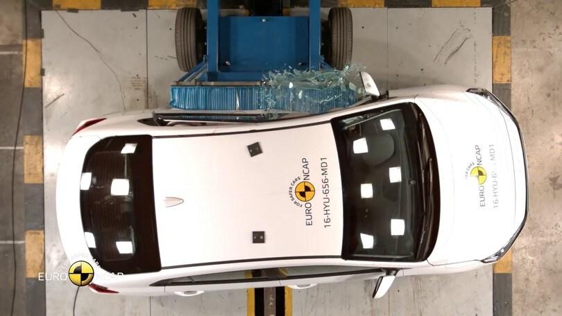 Crash-test Euro NCAP, 5 stelle per Audi, Ford, Hyundai e Suzuki
