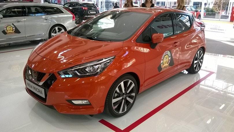 Nissan Micra, la piccola premium si presenta al Motor Show
