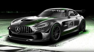 Mercedes-AMG GT4, dalla GT R alla pista