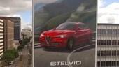Alfa Romeo Stelvio spunta un mega murales a Los Angeles