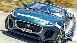 Jaguar F-Type Project 7, momenti di gloria