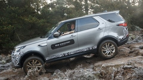 Land Rover Discovery, il test