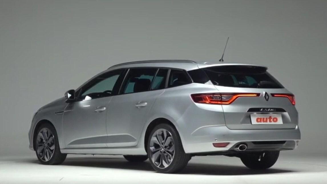 Renault Megane Sporter La Prova La Famiglia 232 Dinamica