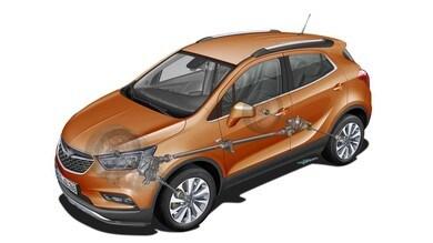 Opel Mokka X, come funziona la trazione integrale