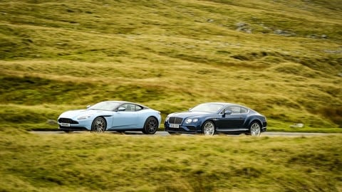 Aston Martin DB 11 vs Bentley Continental GT Speed