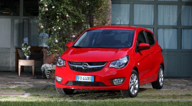 Opel Karl Gpl Tech, 100 km con 3 euro