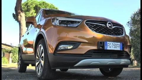 Opel Mokka X, uno sguardo al design