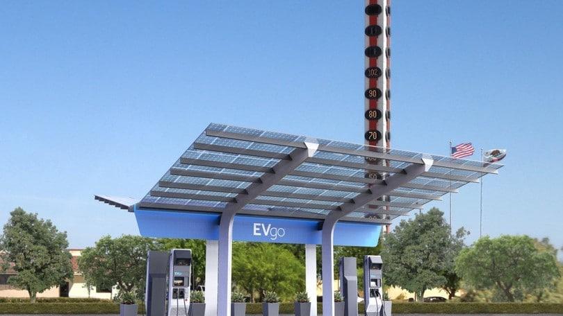 EvGO, ricarica ultraveloce con le stazioni da 350 kW