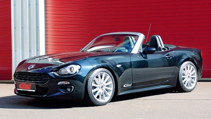 fiat 124 spider l 39 assetto speciale firmato eibach. Black Bedroom Furniture Sets. Home Design Ideas