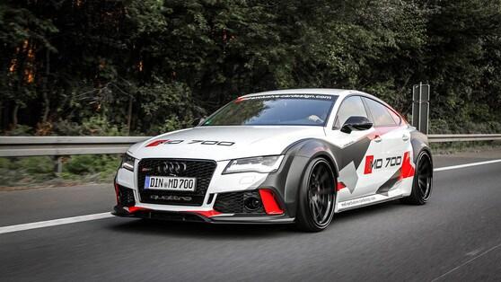 Audi S7, il tuning M&D la trasforma widebody