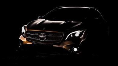 Mercedes porta a Detroit il restyling della GLA