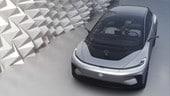 Faraday Future FF91: elettrica, autonoma e con il riconoscimento facciale