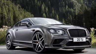 Bentley Continental GT Supersports, la 4 posti più veloce di tutte