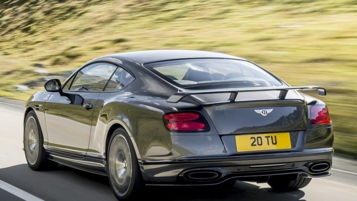 Bentley Continental Supersports, la 4 posti più veloce di sempre