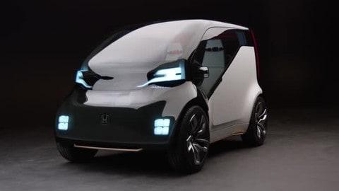 Honda NeuV, il prototipo di citycar per il ride sharing
