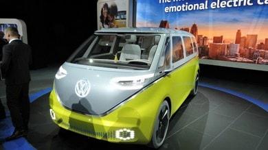 Volkswagen I.D. Buzz Concept, il T1 elettrico e autonomo