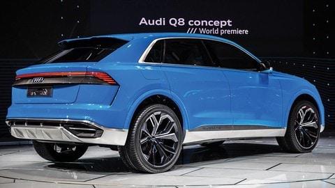 Salone di Detroit 2017, Audi Q8 Concept: foto
