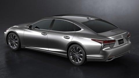 Nuova Lexus LS: foto