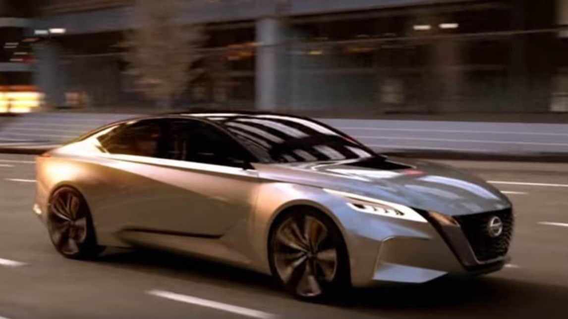 Nissan Vmotion, la berlina per la mobilità intelligente