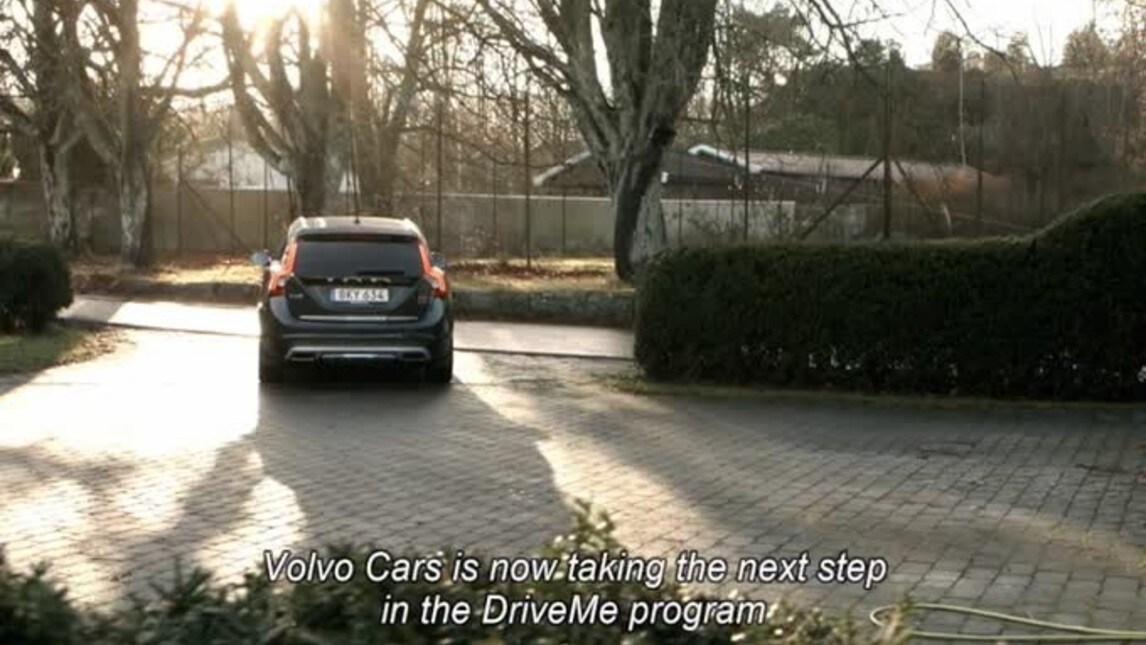 Volvo presenta gli Hain, la prima famiglia a guida autonoma di Svezia