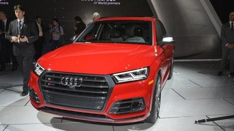 Nuova Audi SQ5, le foto
