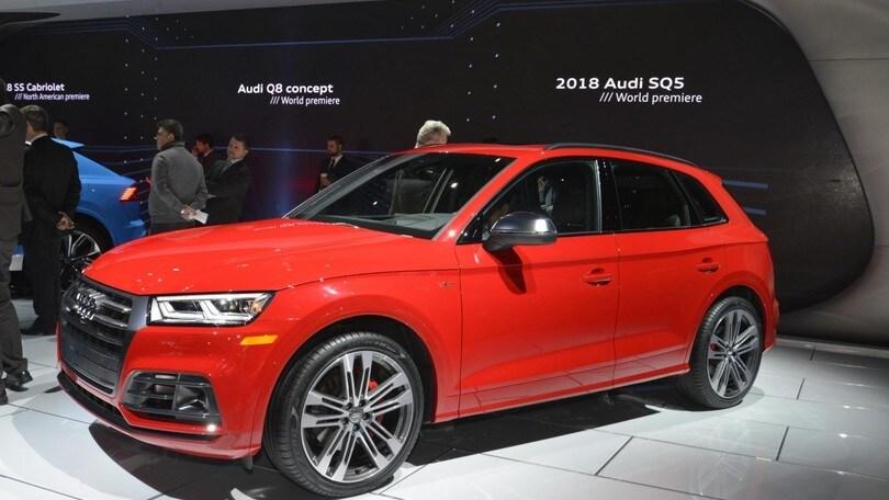 Audi SQ5, il V6 sceglie il turbo a Detroit