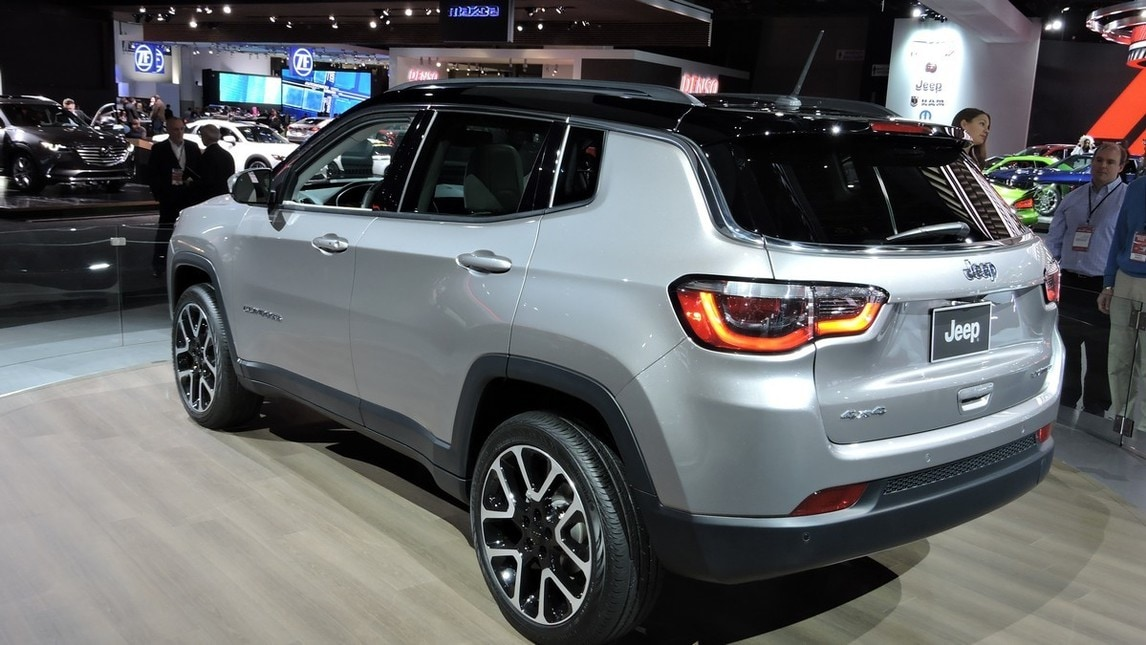 Jeep Compass Live Detroit Foto Auto It