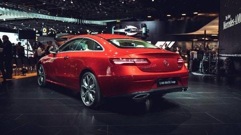 Mercedes Classe E Coupé: foto