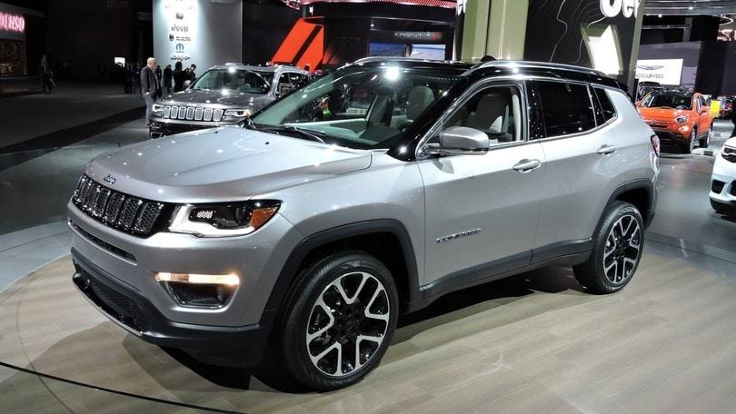 Jeep Compass, a Detroit il nuovo Suv FCA