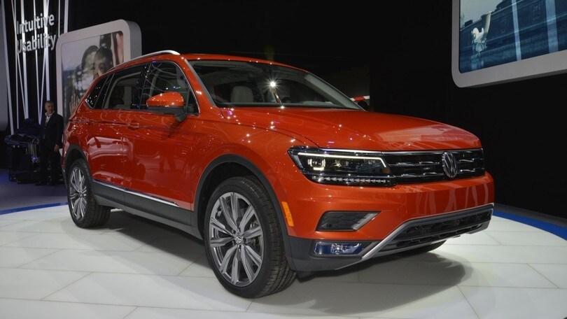 Volkswagen Tiguan Allspace, passo lungo e 7 posti
