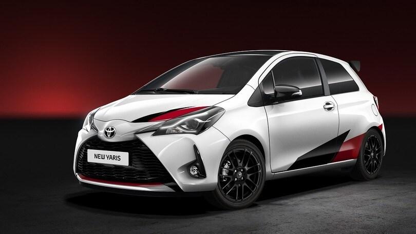 Toyota Yaris, arriva la versione ispirata alla WRC Plus