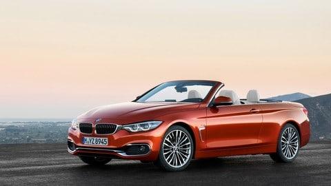 BMW Serie 4 2017, le foto del restyling